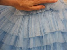 Making a Tutu costum shop, tutu construct, ballet theatr