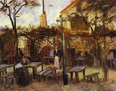 Van Gogh - Terrace of a Cafe on Montmartre La Guinguette