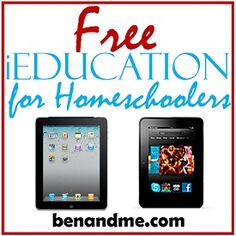 iEducation -- Free Apps for Homeschooling #iPad and #Kindle Fire