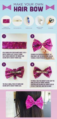 DIY: Make Your Own Hair Bow
