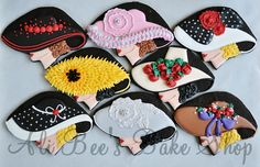 Amazing! I love these! Kentucky Derby inspired cookies from the amazing Ali Bee's Bake Shop!