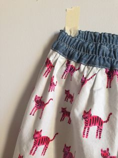 Cotton + Steel simple skirts // girl like the sea
