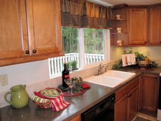 Kitchen Staging in Rental Home