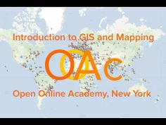 Introduction to GIS and Mapping MOOC
