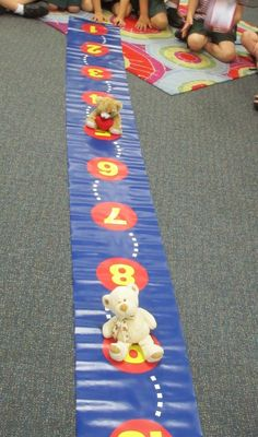 Race to 10 - an easy math game your kidlets will love. Love, Laughter and Learning in Prep!