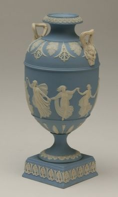 Image detail for -Wedgewood Jasperware urn : Lot 35