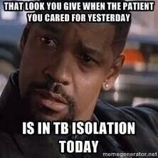 Or C diff, MRSA, flu, ESBL-all of the above!