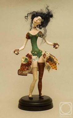 Doll artist anastasia yanovskaya