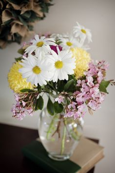 Spring Has Sprung + Some Handcrafted, At Home Fresh Flower Arrangements | Fab You Bliss