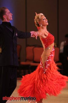 The Vienese Waltz is danced by Mikolay Czarnecki and Charlene Proctor at the First Coast Classic in Jacksonville, Florida 2013. Photo by Stephen Marino.