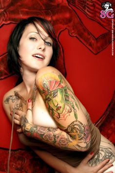 #Hot #Girls with #Tattoos more #Inked Girls
