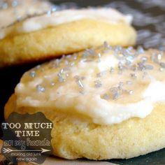 The Best Sugar Cookies-Gluten Free!