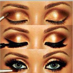 I want to learn how to make my eyes look like that! SOO pretty!