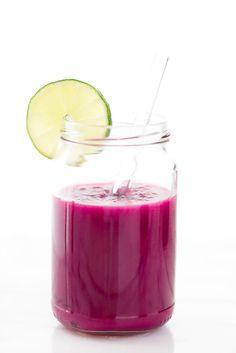 pink detox smoothie