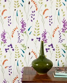 Bluebell: Purple/Blue/Green from www.grahambrown.com