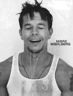 wet Mark Wahlberg yum :)
