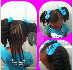 natur hairstyl, little girls, girl hairstyl, children hairstyl, natural hair kids styles, hair styles little black girls, hair inspir, girl hairdo, kid hairstyl