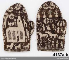Swedish Mittens, 1855