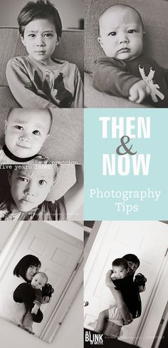 Then & Now Photography Tips - simple as that