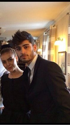 Zayn and Perrie at Perrie's grandma's funeral