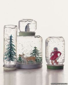 Snow Globes How-To