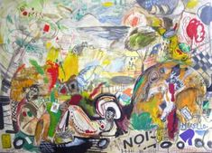 Arte Moderno,Merello. olor a mayo. Oleo