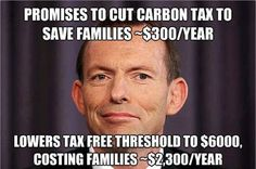 But climate change is crap, isn't it Tony? Climate science is all made up but god is real.