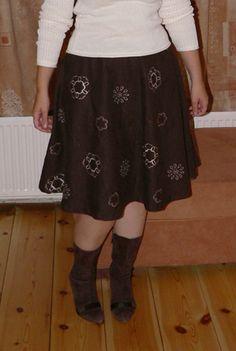 half circle skirt tut