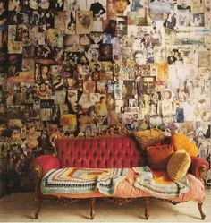 Pinterest Is Pretty, But Pinning WallsWill Always Be More Personal | 27  Examples Why ➤  http://CARLAASTON.com/designed/design-life-story-i...