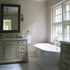Tudor revival traditional bathroom home inspiration for Tudor bathroom design