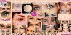 makeup for older women eyes