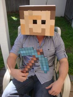 Minecraft party - coustume