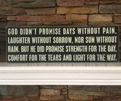 Comfort Quote... Amen!