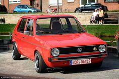 Golf mk1 Red - Mini Cooper Coupe by Thorsten Haustein, via Flickr