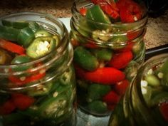Homemade Canned Jalapenos