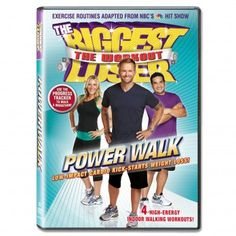 The Biggest Loser Power Walk DVD $10.49 #BiggestLoser