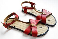 DIY arrow sandals/ http://www.etsy.com/blog/en/2011/how-tuesday-arrow-sandals/?ref=fp_blog_title