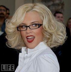 jenny mccarthy, glasses, celeb eyewear, jenni mccarthi, celebr eye, people, celebr wear, teachers, wear glass