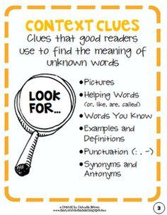 anchors, teaching context clues, balls, idea, school, teach context, anchor charts, classroom magazin, picture books