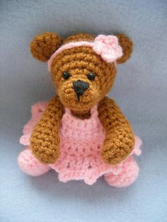 Ballerina Teddy Bear by Justyna Kacprzak