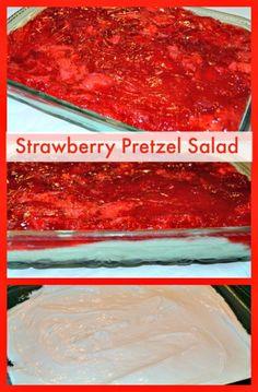 Strawberry Pretzel Salad http://recipesforourdailybread.com/2013/01/22/best-strawberry-pretzel-salad/