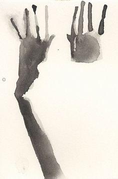"Auguste Garufi Ab Urbe Condita, 2004 watercolor, 6"" x 4"""