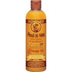 Amazing on Danish teak and other furniture treasures: Howard Feed-N-Wax 16 fl.-oz. Wood Polish and Conditioner