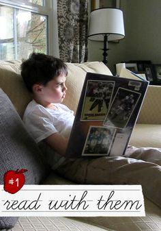 Reading doesn't only help teach your child to read it also works on many of the other things.  Listening and taking turns are two obvious lessons children can learn while reading with a parent but what I love most is that reading a book can often open up a dialogue. This is so important.