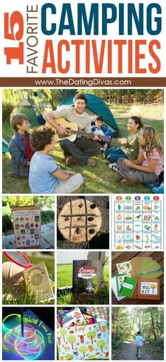 Fun Camping Activities- to keep the kids busy