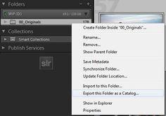 Lightroom file management tutorial