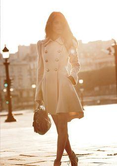 Coat as dress <3