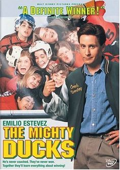 The Mighty Ducks. One of my favorite movies as a kid.