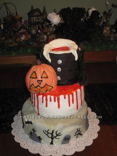 Coolest Headless Halloween Cake...