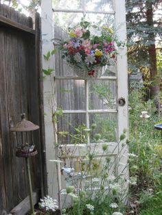 The Garden Door, in Alexis' peaceful garden patio, very peaceful place to be.